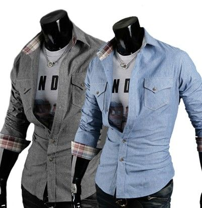 casual dress shirts for men. i purchase this for my guy and it looks stunning in person!