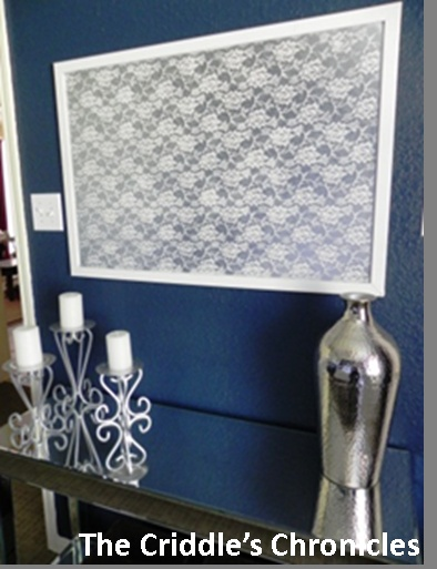 The Criddles Chronicles: Navy Blue and White Guest Bedroom Redo
