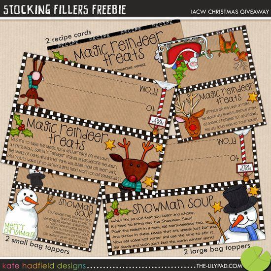 Cute reindeer printable tags