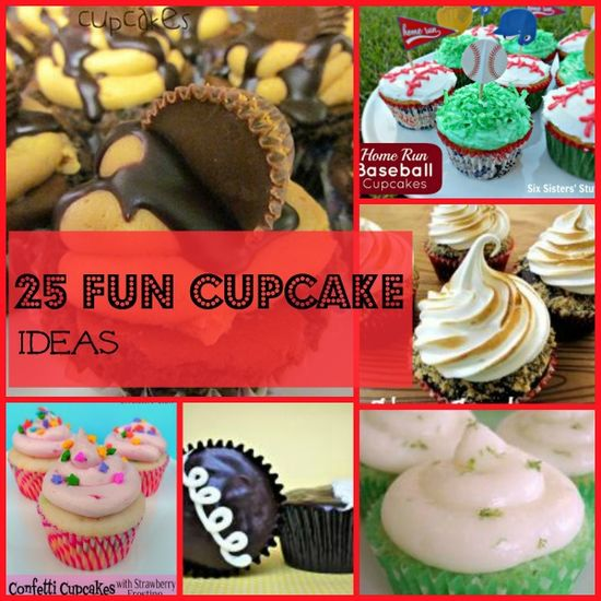 25 Fun Cup Cake Ideas