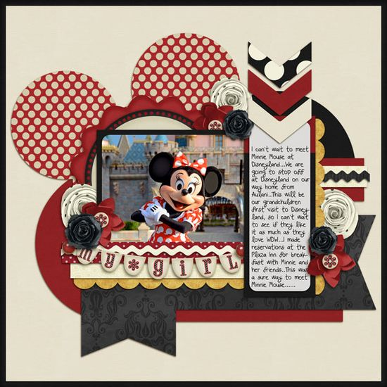 #papercraft #scrapbook #layout #Disney Using the same layout, but changing the theme. Love how they all turned out!