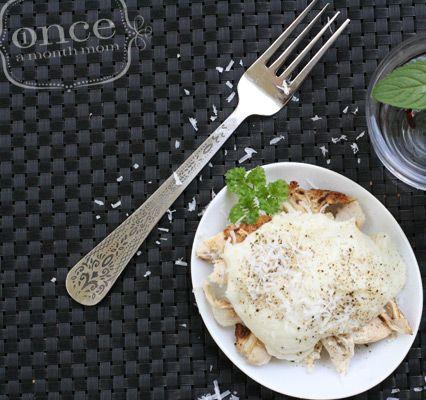 Paleo Chicken Alfredo - Lunch - #freezercooking #oamc #paleo