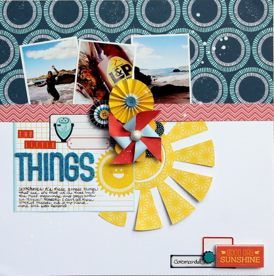 The Little Things  *American Crafts* - Scrapbook.com