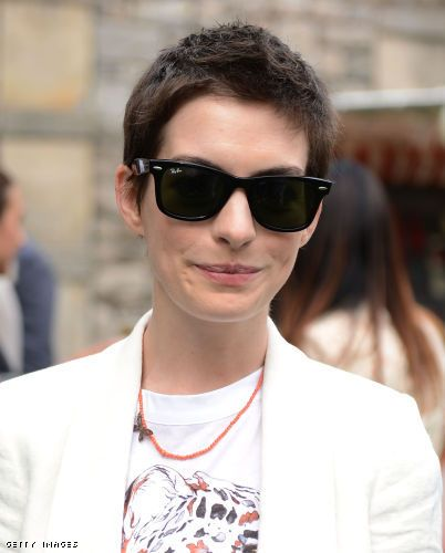 Anne Hathaway - Celebrity Status  RealStyle #Glasses #Sunglasses #Shades www.focalglasses.com www.facebook.com/... Best Vision in The World!