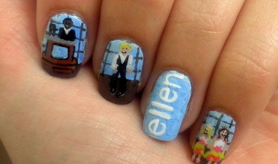We love this nail art!