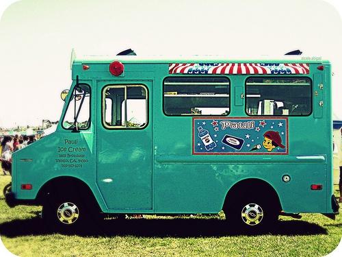 chasing down the ice cream truck