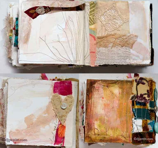 DJ Pettitt artists book #handmade_books #mixed_media #fabrics