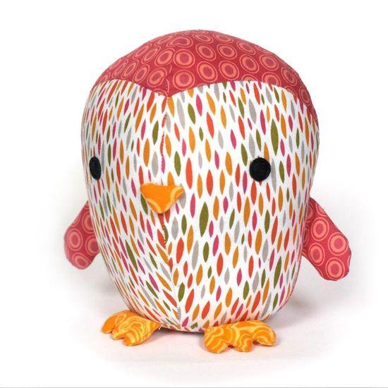 Cute Penguin toy pattern - PDF Pattern