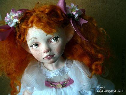"""handmade musical doll fairy """"Whisper"""""""
