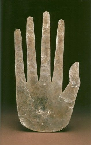Mica Hand, Hopewell, Ross County, Ohio, ca. 100 BCE - 500 CE