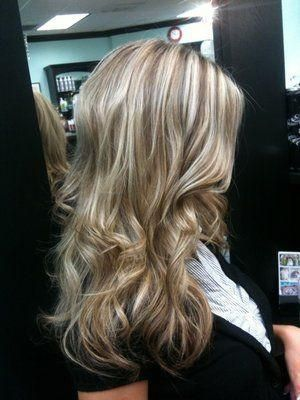 If I were to ever get my hair professionally colored, I might go for something like this.