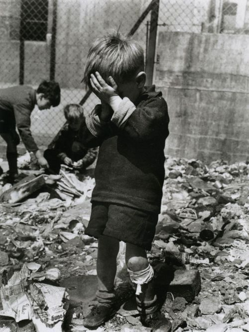 Roger Mayne - Boy on a Bombsite, Waverley Walk, Harrow Road area, 1957