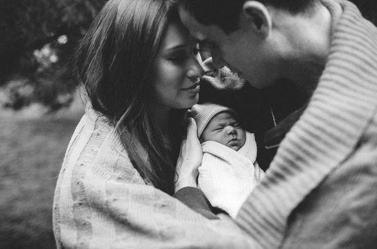 Newborn picture.