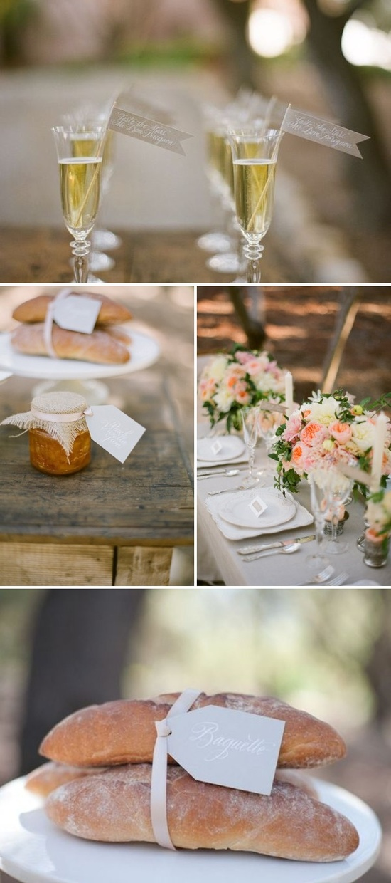 French inspired outdoor wedding inspiration