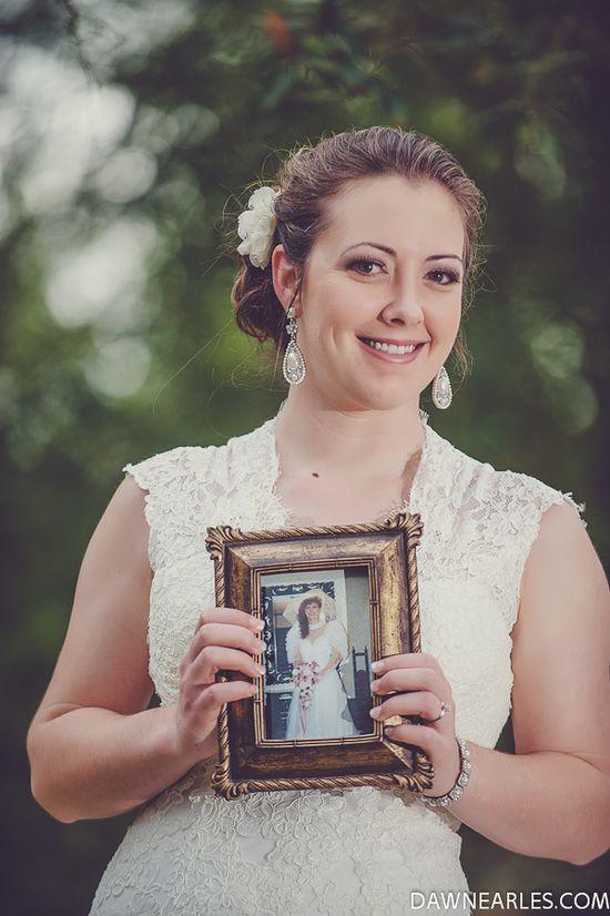 Mother's wedding photo
