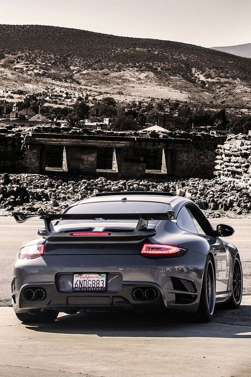 The Very Awesome Porsche 911 Turbo GT3