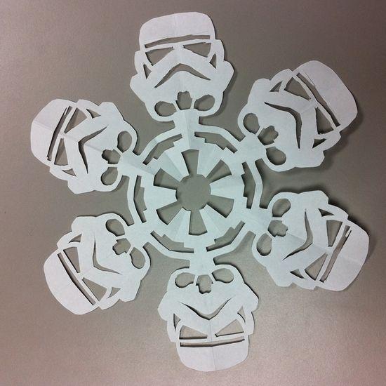Star Wars Snowflakes PDF's