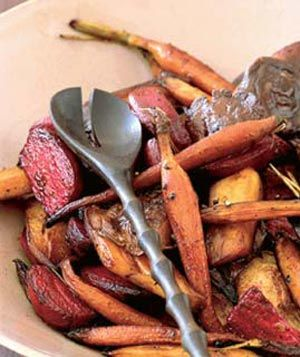 Root vegetable roast.