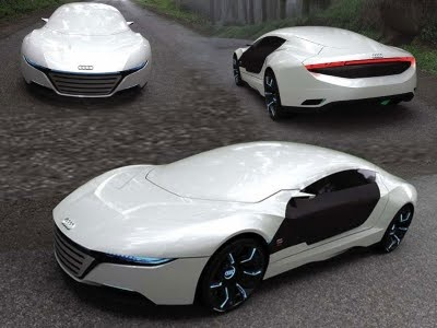 Concept Cars 2000: New Audi Hybrid Sport Cars Concept A9 by Daniel Garcia