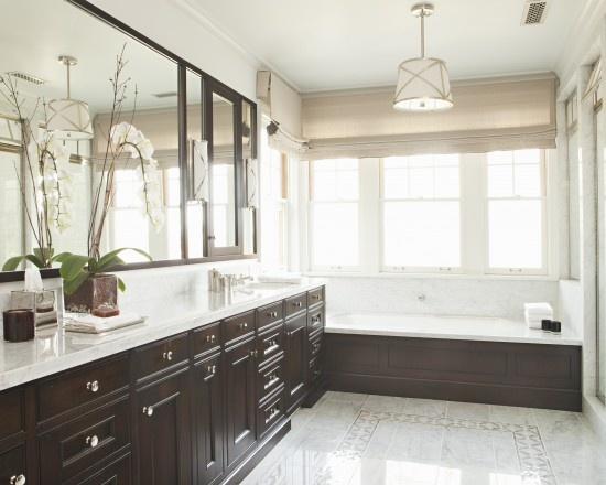 white with dark cabinets master bathroom ideas pinterest