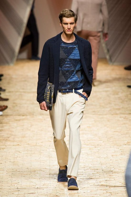 Men's Spring/Summer 2014 Fashion Show on moviestyle.it