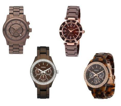 #fall #fashion #watch brown watch love