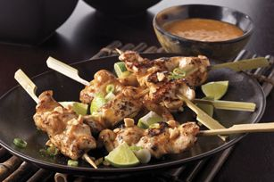 Chicken with Asian Peanut Sauce recipe #PLANTERS