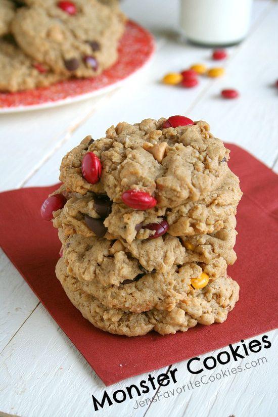 Monster Cookies from Jens Favorite Cookies