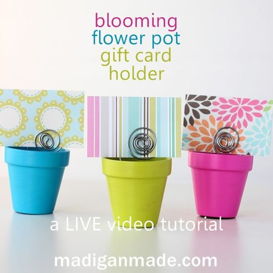 Homemade Mother's Day Gifts: Creative Gift Cards - live video tutorial