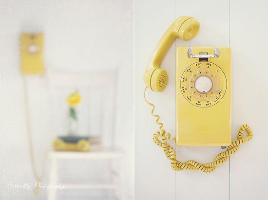 Antique stylish phone