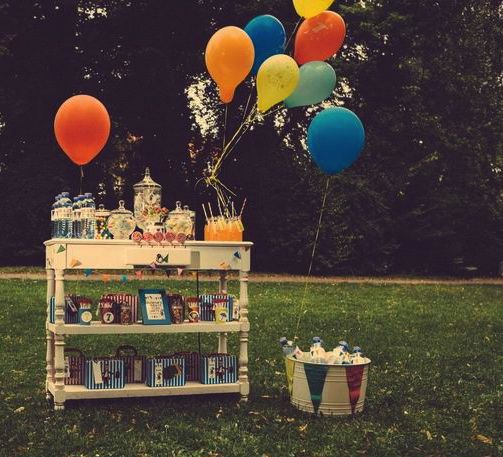 Vintage style circus party