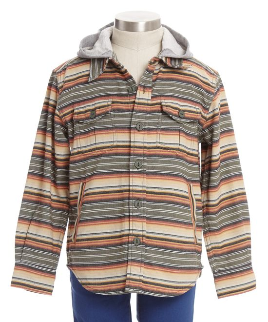 Miguel Serape Stripe Hood - Sale - Shop - boys