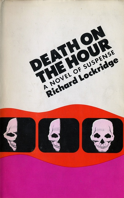 Death on the Hour, book cover, ©1974 Design: Don Bender