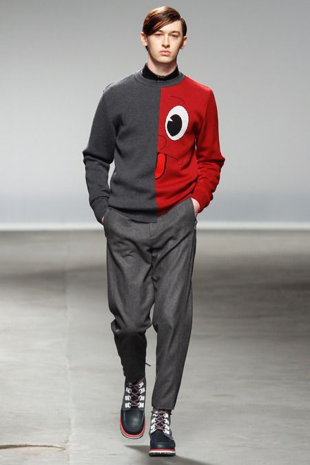 FALL 2013 MENSWEAR Christopher Shannon