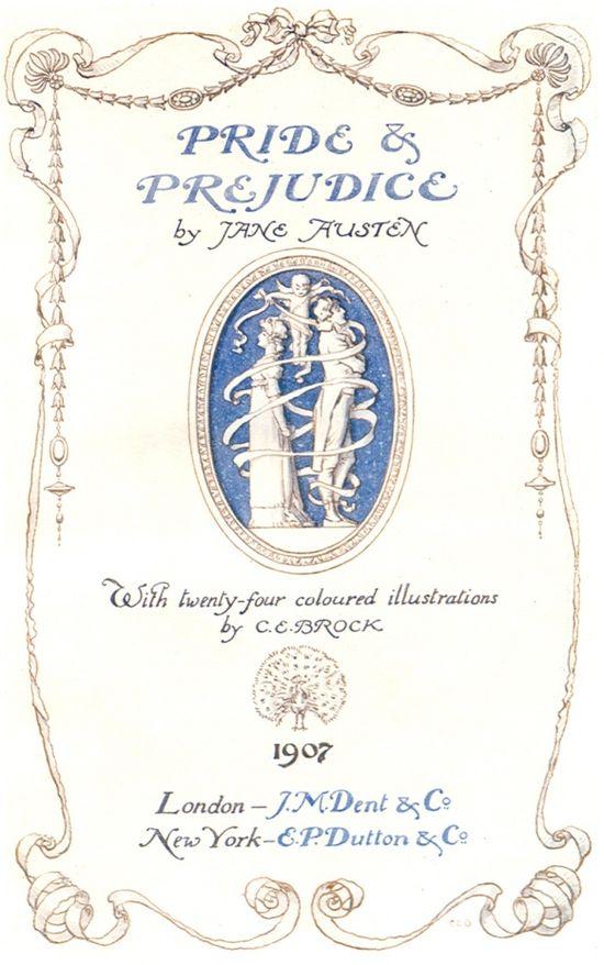 Pride and Prejudice by Jane Austin