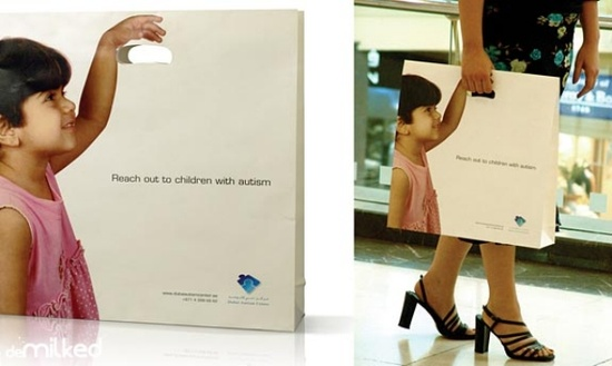 Great Shopping bag ad