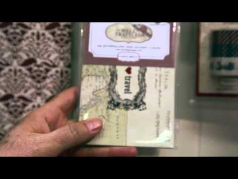 CHA 2013 - Carta Bella - Well Traveled Collection VIDEO