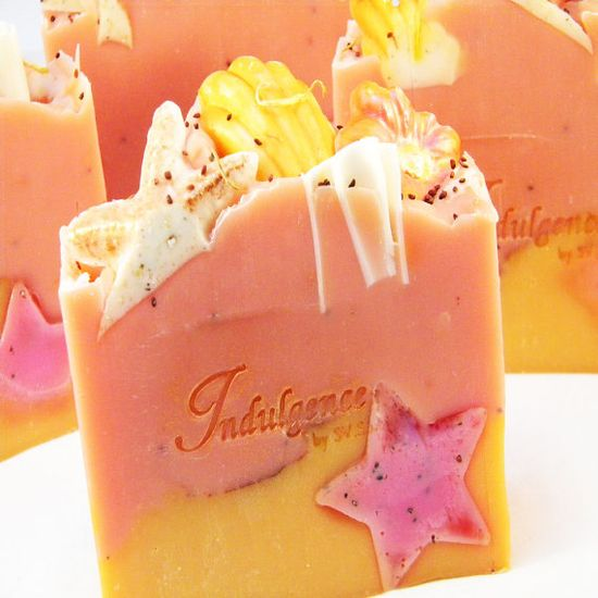Island Nectar Handmade Soap Cold Process Artisan Soap by svsoaps, $6.75