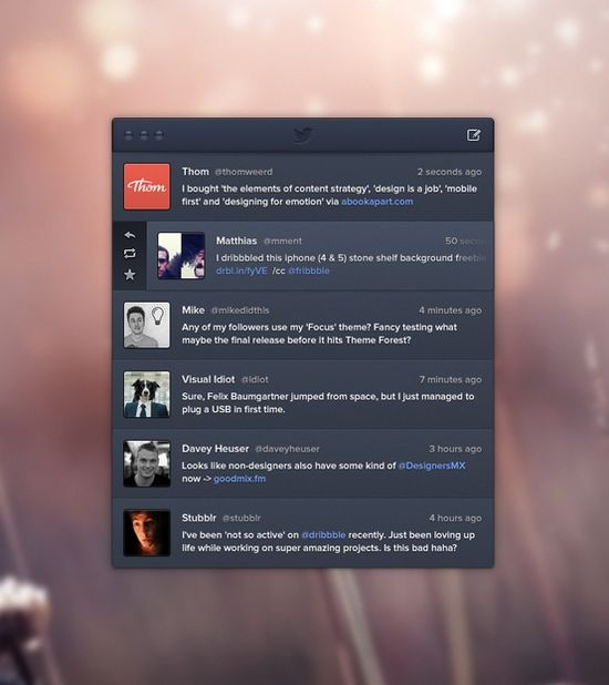 30+ stunning and modern UI designs