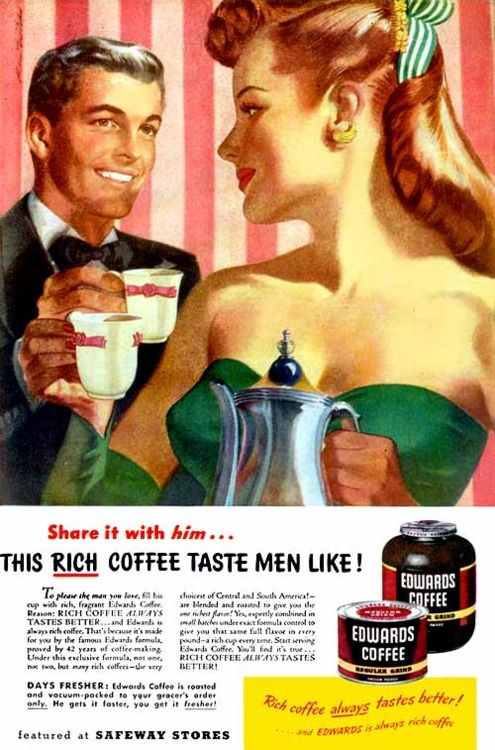 Edwards Coffee, 1947