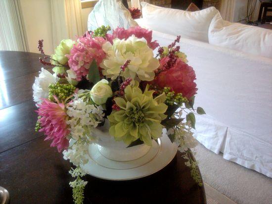 My flower arrangement ideas coffee table decor