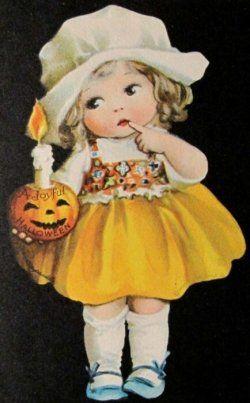 Vintage Halloween images