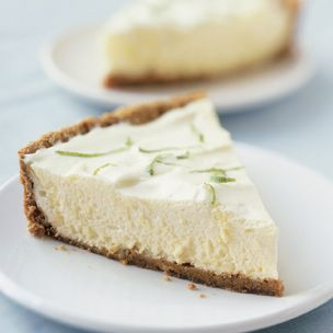 Low-Fat Key Lime Chiffon Pie