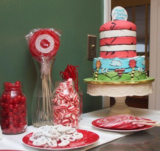 Dr.Seuss-themed birthday party! #birthdays#dr.seuss#themes