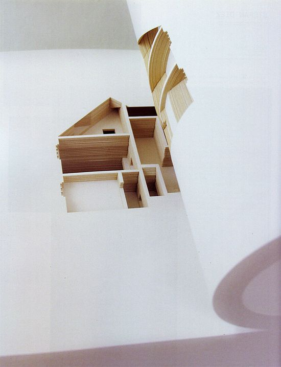 The Negative Space of a House Cut Inside a 908-Page Book www.thisiscolossa...
