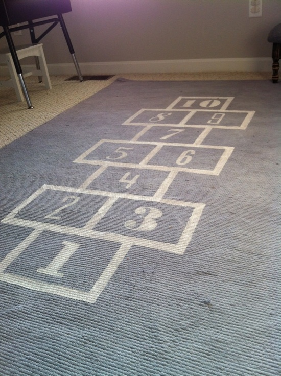 This is a fun rug to put in one of the kid-centered rooms.