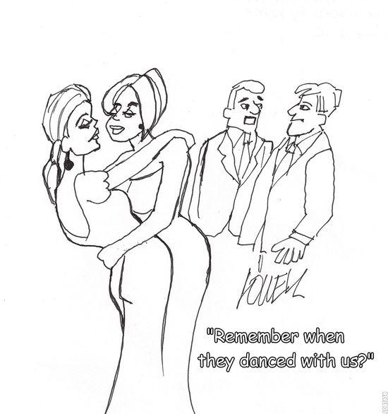 Gag cartoon