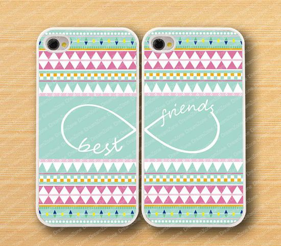 Aztec,infinity& Best Friends iPhone 4 Case, iPhone 4s Case, iPhone 4 Hard Plastic Case, Personalized iPhone cover--water proof on Etsy, $15.99