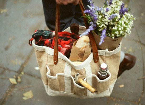 Perfect picnic bag