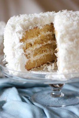 How to make Fluffy Coconut cake ? ~ Recipe manic